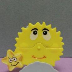 Figuras Kinder: FIGURA KINDER SOL Y ESTRELLA EN MOVIMIENTO K03 N26. Lote 218649757