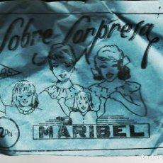 Figuras de Goma y PVC: LOTE A- SOBRE SORPRESA AÑOS 60-70 TIPO MONTAPLEX. Lote 218683437