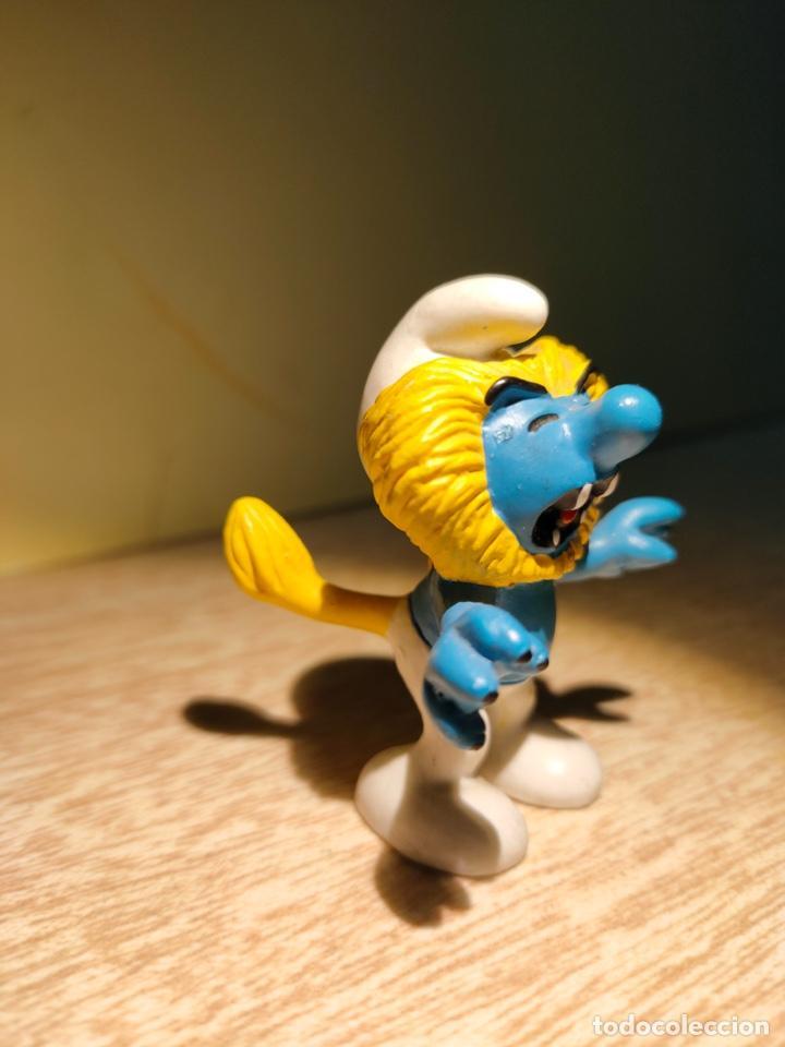 Figuras de Goma y PVC: PITUFOS ZODIACO HOROSCOPO FIGURA PVC SCHLEICH 20724 PITUFO LEO, NUEVO!!! - Foto 3 - 218695181