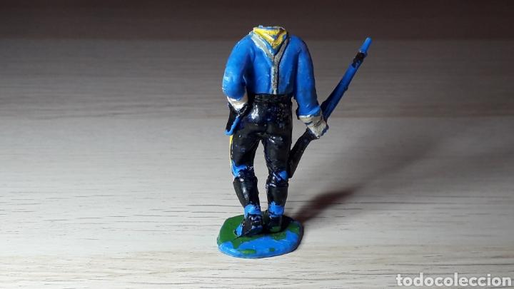 Figuras de Goma y PVC: Federal Yankee serie Rin Tin Tin descabezados, fabricado en plástico, Jecsan Spain, original años 60 - Foto 4 - 218745610
