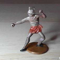 Figuras de Goma y PVC: GLADIADOR ROMANO, FABRICADO EN GOMA, GAMA MADE IN SPAIN, ORIGINAL AÑOS 50.. Lote 218762943