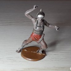 Figuras de Goma y PVC: GLADIADOR ROMANO, FABRICADO EN GOMA, GAMA MADE IN SPAIN, ORIGINAL AÑOS 50.. Lote 218763041