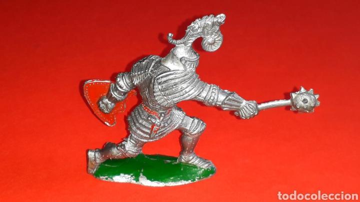 Figuras de Goma y PVC: Caballero medieval, serie grande, fabricado en plástico, Lafredo made in Spain, años 60. - Foto 2 - 218768345