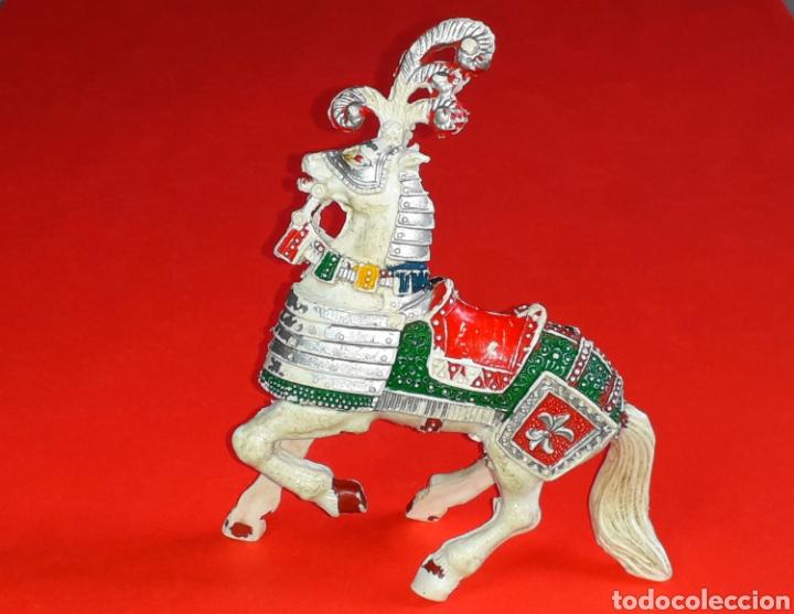 Figuras de Goma y PVC: Caballo medieval, serie grande, fabricado en plástico, Lafredo made in Spain, años 60. - Foto 2 - 218768873