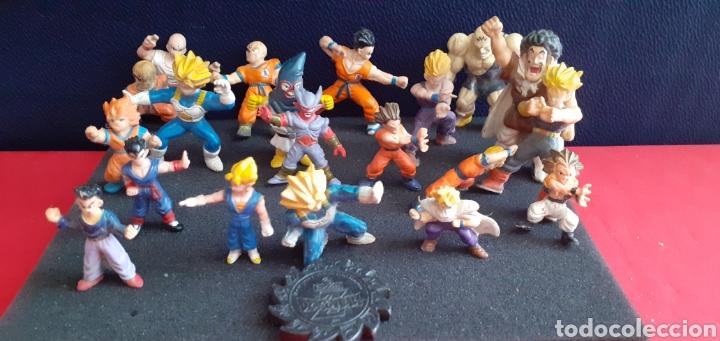 JUGETES DE DRAGON BALL 1989TAL CUAL COMO SE VE EN FOTOS (Juguetes - Figuras de Goma y Pvc - Otras)