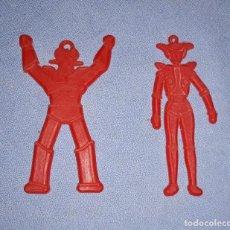 Figuras de Goma y PVC: MAZINGER Z Y AFRODITA DUNKIN AÑOS 70 ORIGINAL EN MUY BUEN ESTADO. Lote 218813200