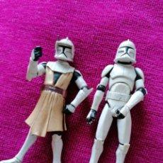 Figuras de Borracha e PVC: FIGURAS PVC STAR WARS. Lote 218814187