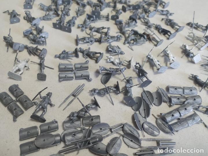 Figuras de Goma y PVC: Soldaditos de plástico Infantería romana italeri estilo montaplex - Foto 3 - 218837888