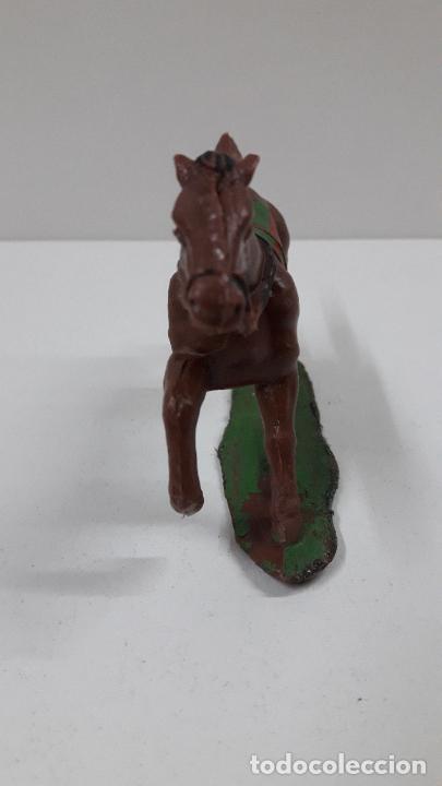 Figuras de Goma y PVC: CABALLO INDIO CON BASE . REALIZADO POR REAMSA . ORIGINAL AÑOS 60 - Foto 5 - 218857511
