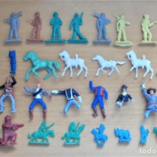 Figuras de Goma y PVC: LOTE DIFERENTES FIGURAS EN PLÁSTICO. SERJAN, MONTAPLEX, PIPERO, ETC. AÑOS 70/80. Lote 218876331