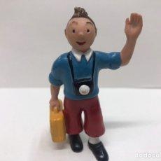 Figuras de Goma y PVC: FIGURA TINTÍN CÓMICS SPAIN. Lote 218885613
