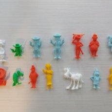 Figuras de Goma y PVC: FIGURAS LUCKY LUKE. Lote 219005186