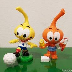 Figuras de Borracha e PVC: LOS SNORKELS / LOTE 2 MUÑECOS GOMA / PVC APPLAUSE 1984. Lote 219026415
