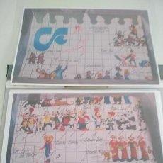 Figuras de Borracha e PVC: CATALOGO DE FOTOCOPIAS EN COLOR - DE COMICS SPAIN AÑOS 80. Lote 219027203