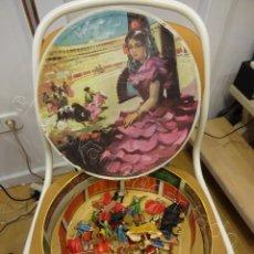 Figuras de Goma y PVC: ANTIGUA PLAZA DE TOROS. CORRIDA. JECSAN-REAMSA-PECH? MUCHAS FIGURAS. VER FOTOS. Lote 219105890