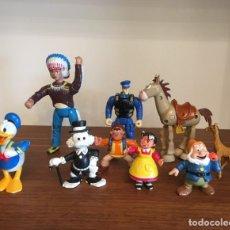 Figuras de Goma y PVC: FIGURAS DE GOMA. HEIDI, PATO DONALD, TÍO GILITO... Lote 219113245