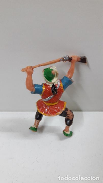 Figuras de Goma y PVC: COSACO PARA CABALLO . SERIE EL COSACO VERDE . REALIZADA POR ESTEREOPLAST . ORIGINAL AÑOS 60 - Foto 4 - 219114486