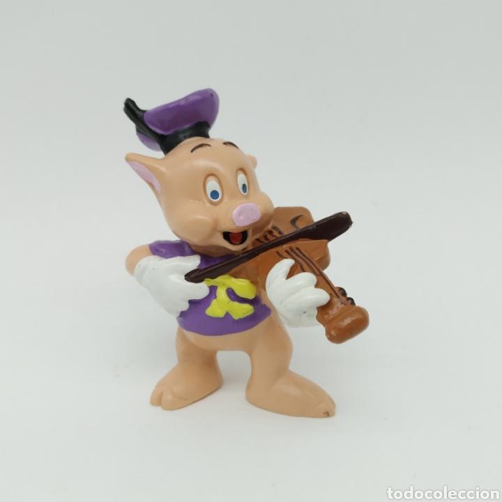 Figuras de Goma y PVC: Los tres cerditos y el Lobo Feroz de Disney, BULLYLAND - Foto 2 - 219126816