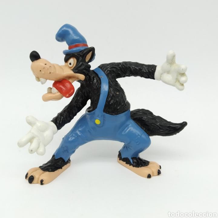 Figuras de Goma y PVC: Los tres cerditos y el Lobo Feroz de Disney, BULLYLAND - Foto 11 - 219126816