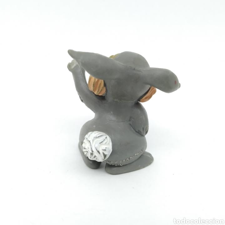 Figuras de Goma y PVC: Conejo TAMBOR de la película BAMBI de Walt Disney fabricada el 1986 por COMICS SPAIN - Foto 2 - 219128347