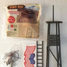 Figuras de Goma y PVC: FORT TIN. COMANSI.. Lote 219178057