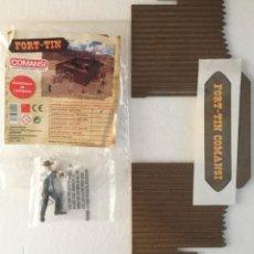Figuras de Goma y PVC: FORT -TIN. COMANSI. Lote 219178331