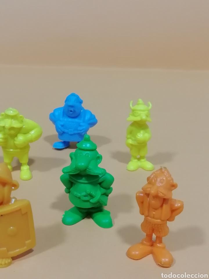 Figuras de Goma y PVC: Dunkin Asterix 2°serie..Pastelitos Ortiz Uderzo-80.. Lote 11 Figuras.. Años 80.. - Foto 3 - 219180780