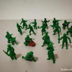 Figuras de Goma y PVC: LOTE SOLDADOS RUSOS Y AMERICANOS DUNKIN. Lote 219180905