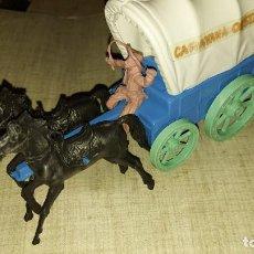 Figuras de Goma y PVC: CARAVANA OESTE. Lote 219196971