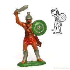 Figuras de Goma y PVC: GLADIADOR ROMANO DE LA MARCA REAMSA, EN PLÁSTICO, CIRCA 1960. Nº 162.. Lote 219204115