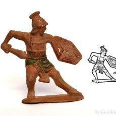 Figuras de Goma y PVC: GLADIADOR ROMANO DE LA MARCA REAMSA, EN GOMA, CIRCA 1950. Nº 163.. Lote 219204955