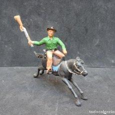 Figuras de Borracha e PVC: REAMSA TEXAS COWBOY. Lote 219214125