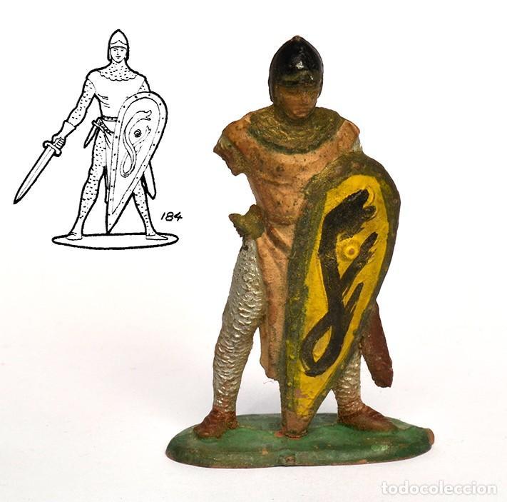 MEDIEVAL DE LA MARCA REAMSA, DE LA SERIE CABALLEROS DE REY ARTURO, EN GOMA, Nº184 (Juguetes - Figuras de Goma y Pvc - Reamsa y Gomarsa)