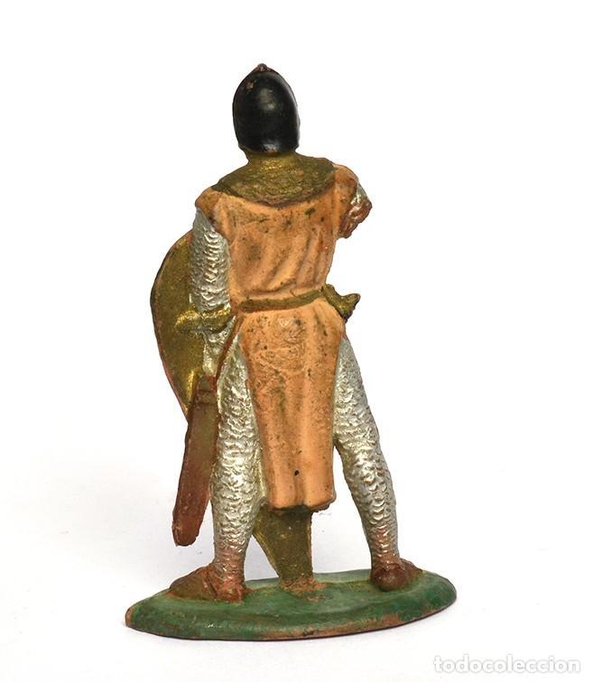 Figuras de Goma y PVC: Medieval de la marca REAMSA, de la serie Caballeros de rey Arturo, en goma, nº184 - Foto 2 - 219217552