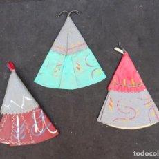 Figuras de Goma y PVC: PECH TIENDAS INDIAS. Lote 219292467