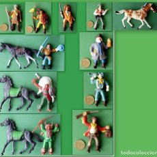 Figuras de Goma y PVC: FIGURAS Y SOLDADITOS MAS DE 6 CTM - 12601. Lote 219298480