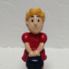 Figuras de Goma y PVC: FIGURA PVC NIÑA CON BOLSO MADE CHINA. Lote 219345737