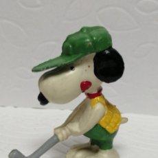 Figuras de Goma y PVC: FIGURA PVC SNOOPY GOLF SIN MARCA. Lote 219345827