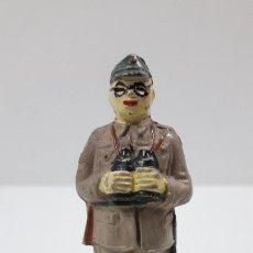Figuras de Goma y PVC: OFICIAL JAPONES . REALIZADO POR JECSAN . SERIE INFANTERIA JAPONESA . ORIGINAL AÑOS 50 EN GOMA. Lote 219415713