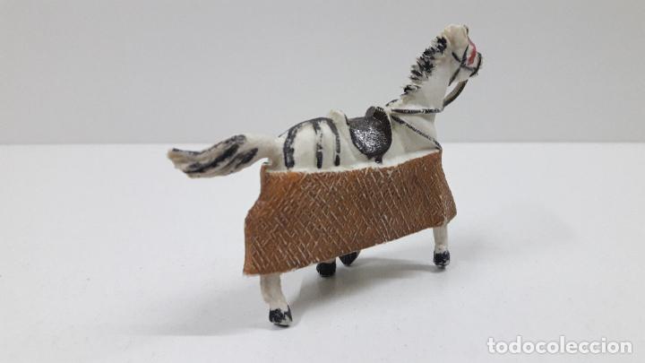 Figuras de Goma y PVC: CABALLO PARA PICADOR . REALIZADO POR TEIXIDO . ORIGINAL AÑOS 60 - Foto 3 - 219422423