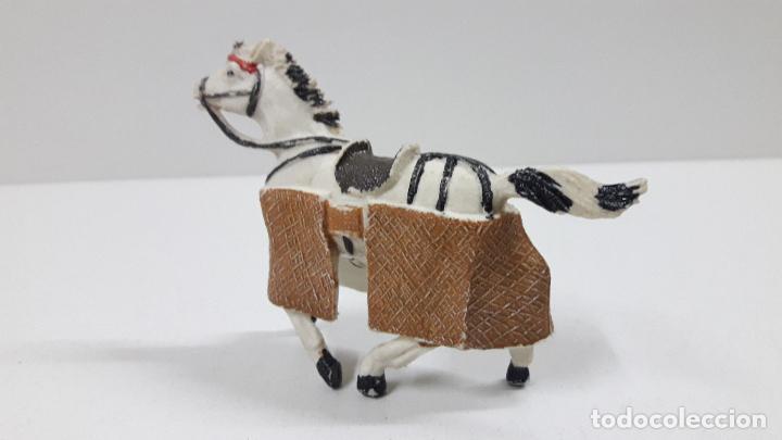 Figuras de Goma y PVC: CABALLO PARA PICADOR . REALIZADO POR TEIXIDO . ORIGINAL AÑOS 60 - Foto 4 - 219422423