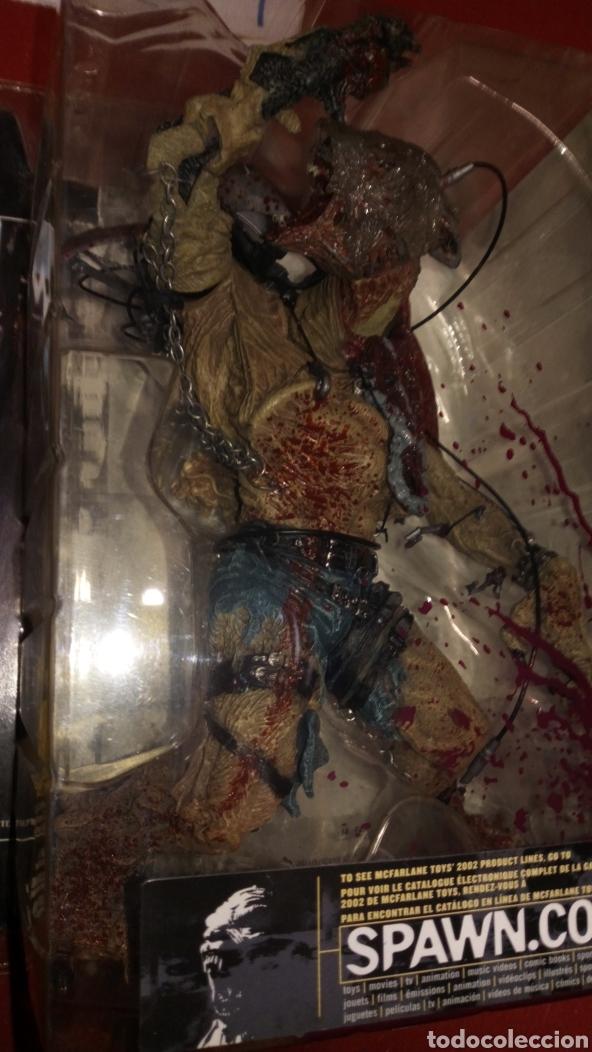 Figuras de Goma y PVC: Figura muñeco MC farlanes monsters werewolf spawn en blister - Foto 2 - 219470930