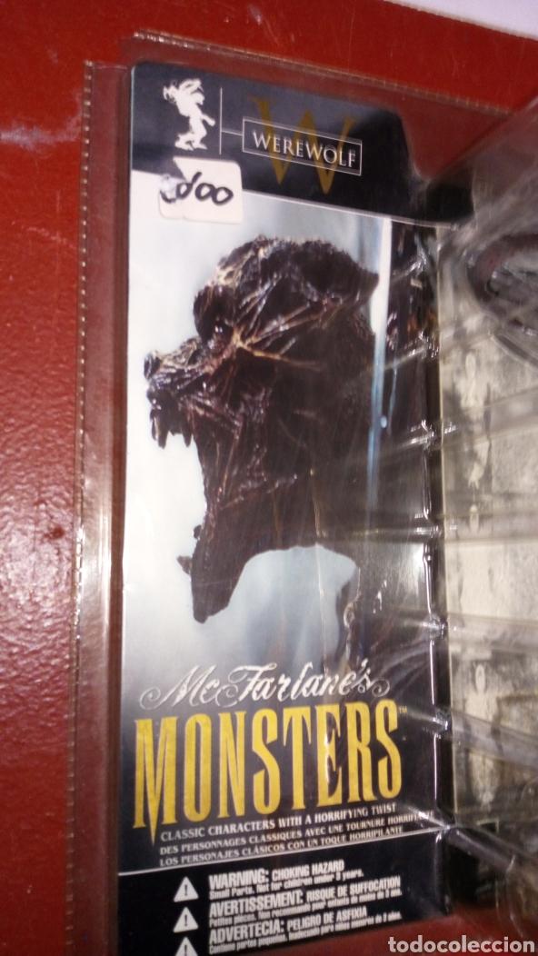 Figuras de Goma y PVC: Figura muñeco MC farlanes monsters werewolf spawn en blister - Foto 3 - 219470930