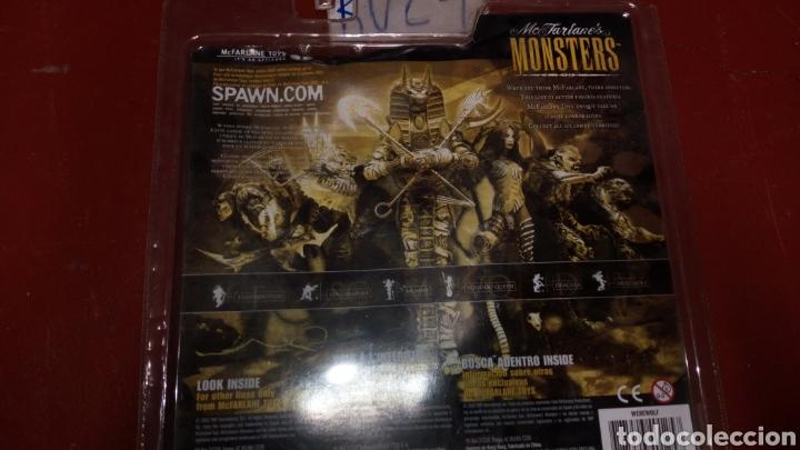 Figuras de Goma y PVC: Figura muñeco MC farlanes monsters werewolf spawn en blister - Foto 4 - 219470930