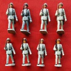 Figuras de Goma y PVC: PECH. DESFILE POLICIA ARMADA. 10 FIGURAS. BUEN ESTADO. ORIGINALES. AÑOS 60.. Lote 219490033