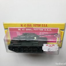 Figuras de Goma y PVC: EKO - TANQUE M 47 PATTON - USA - NUEVO EN BLISTER - MADE IN SPAIN - AÑOS 70´S. Lote 219506026