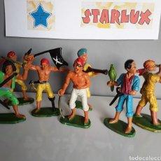Figuras de Goma y PVC: PIRATAS, STARLUX FRANCE, AÑOS 70, SERIE DISEÑADA POR G.ERIK QUE EN ESPAÑA REALIZÓ REAMSA.. Lote 219658337