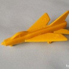 Figuras de Goma y PVC: AVION PLASTICO DESMONTABLE BIMBO LIGHTNING F.2 AÑOS SETENTA MEJOR QUE MONTAPLEX USADO COMPLETO.. Lote 219658546