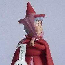 Figuras de Goma y PVC: WALT DISNEY FIGURA PVC HADA MADRINA DE AURORA-LA BELLA DORMIENTE -BULLYLAND-CON ETIQUETA. Lote 219754227