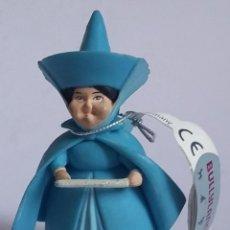 Figuras de Goma y PVC: WALT DISNEY FIGURA PVC HADA MADRINA DE AURORA-LA BELLA DORMIENTE -BULLYLAND-CON ETIQUETA. Lote 219754410